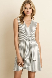 dress forum Knotted Stripe Dress - Product Mini Image