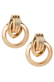 Saachi Knotted Stud Earring - Side cropped