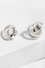 Saachi Knotted Stud Earring - Product Mini Image