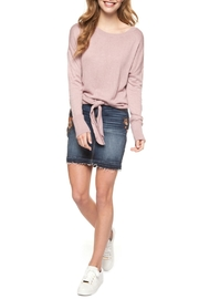 Dex Knotted Sweater - Front full body