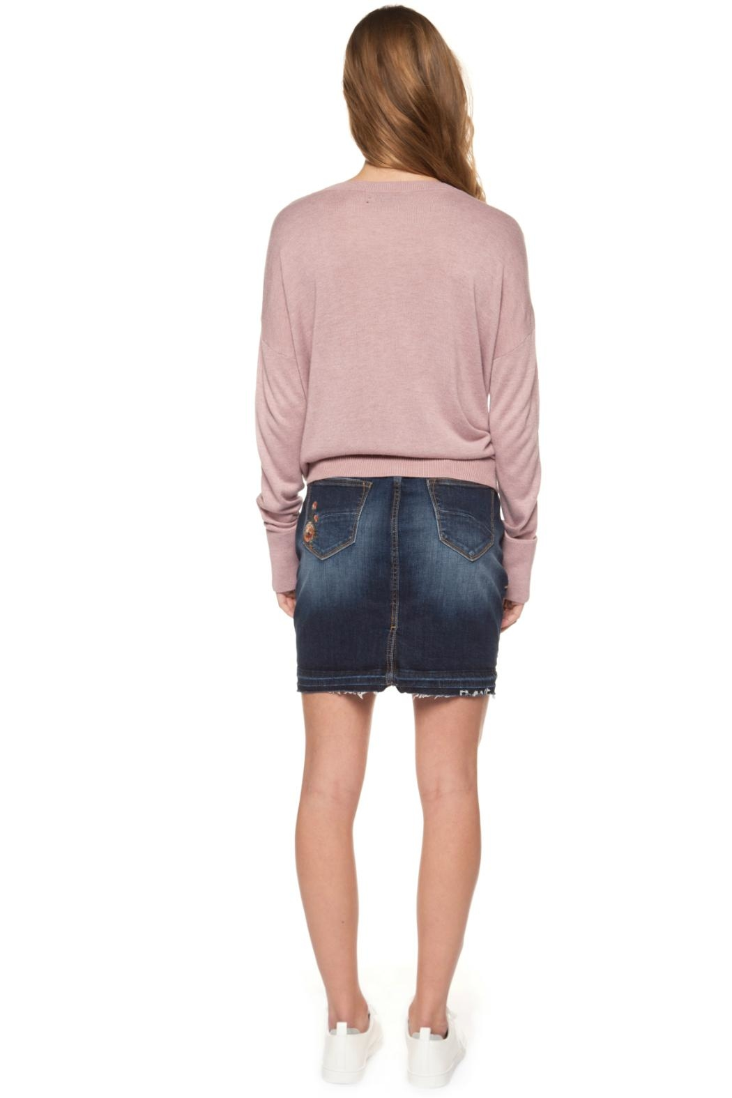 Dex Knotted Sweater - Side Cropped Image