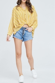 Emory Park Knotted Top - Product Mini Image