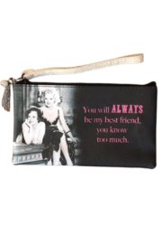 My Favorite Things Know Too Much Wristlet - Product Mini Image