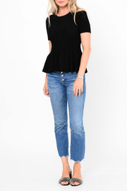 love token Knox Ribbed Flare Top - Product Mini Image