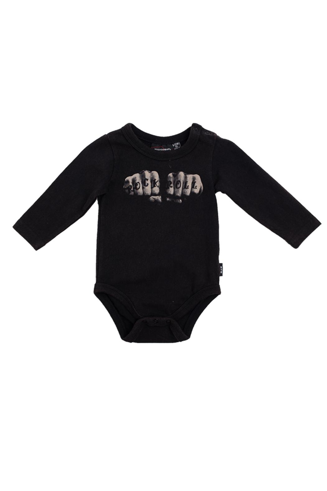 Rock Your Baby Knuckles Bodysuit - Main Image