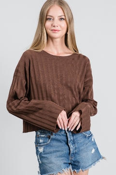 KOAH Ribbed Long Sleeve - Product List Image