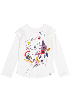 Shoptiques Product: Koala Pom Pom Shirt