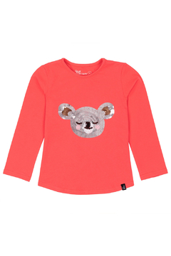 Deux Par Deux Koala Sequin Long Sleeve Shirt - Product List Image