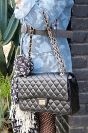 Minx Koko Quilted Purse - Front cropped