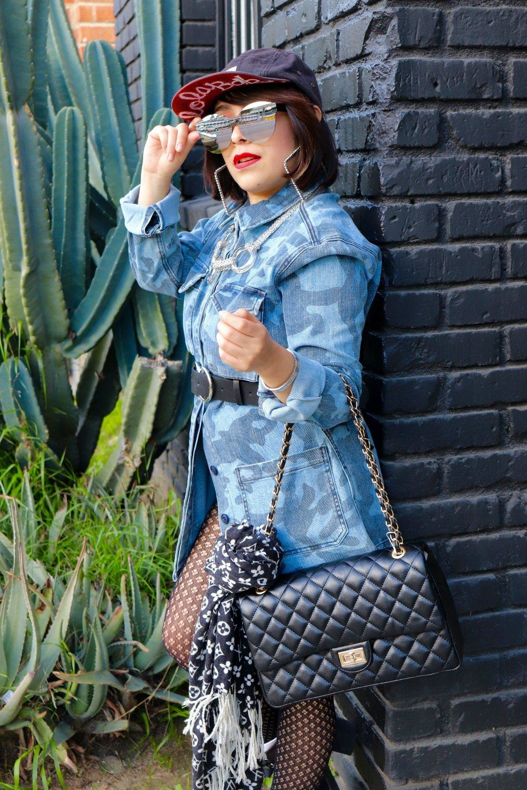 Minx Koko Quilted Purse - Front Full Image