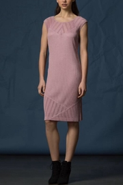 Komarov Eyelet Knit Dress - Product Mini Image