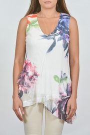 Komarov Floral Layered Tunic - Product Mini Image