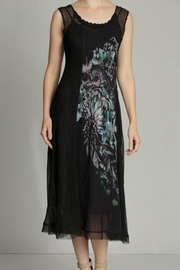 Komarov Floral Panel Dress - Front cropped