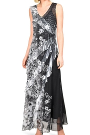Komarov Tiered Maxi Dress - Front cropped