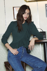 Saylor Kora Ruffle Sweater - Product Mini Image