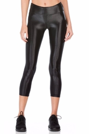 KORAL Lustrous Shiny Black Capri - Product Mini Image
