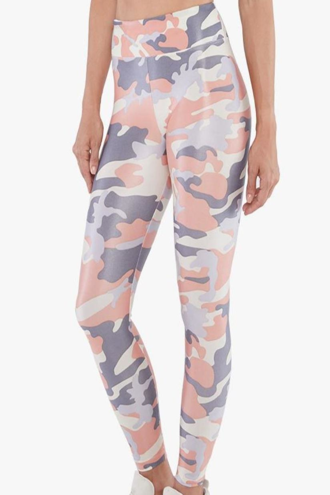 KORAL Lustrous High-Rise Leggings - Front Cropped Image