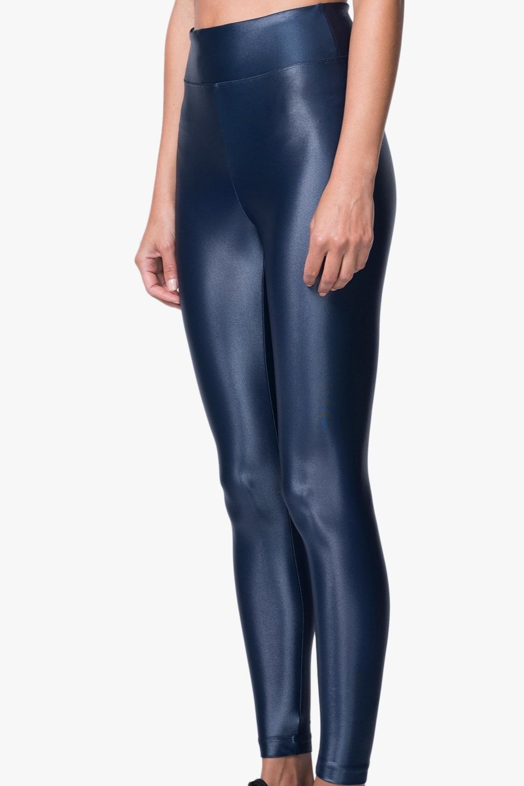 KORAL Lustrous High-Rise Leggings - Side Cropped Image