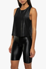 KORAL Muscle Shiny-Netz Tank - Side cropped