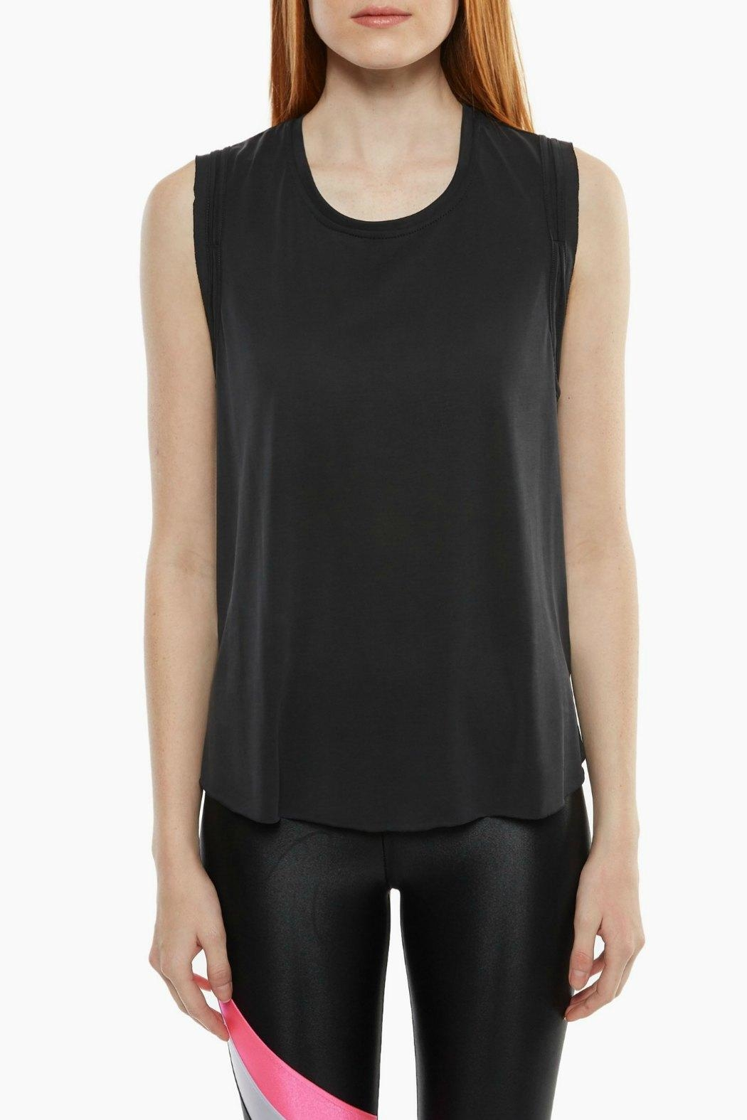 KORAL Press Cupro Tank - Front Cropped Image