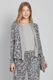 another love  Kore Fleece Leopard Cardigan - Product Mini Image