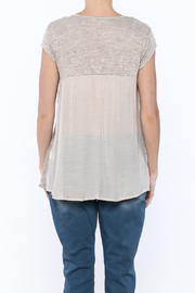 KORI AMERICA All In The Details Tee - Back cropped