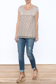 KORI AMERICA All In The Details Tee - Front full body
