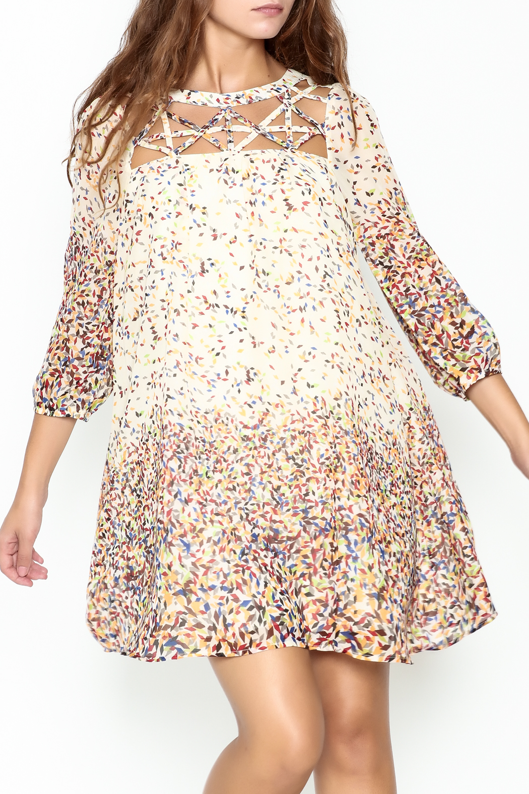 KORI AMERICA Confetti Dress - Main Image