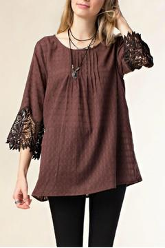 Kori Meadowlands Lace Top - Product List Image