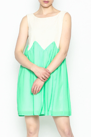 Kori Mint Lace Dress - Product Mini Image