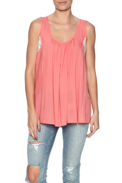 Kori Mixed Lace Top - Product List Image