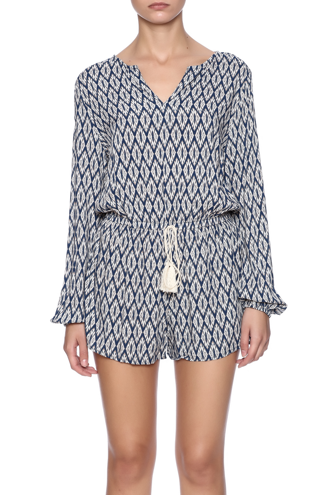 Kori The Taylor Romper - Side Cropped Image