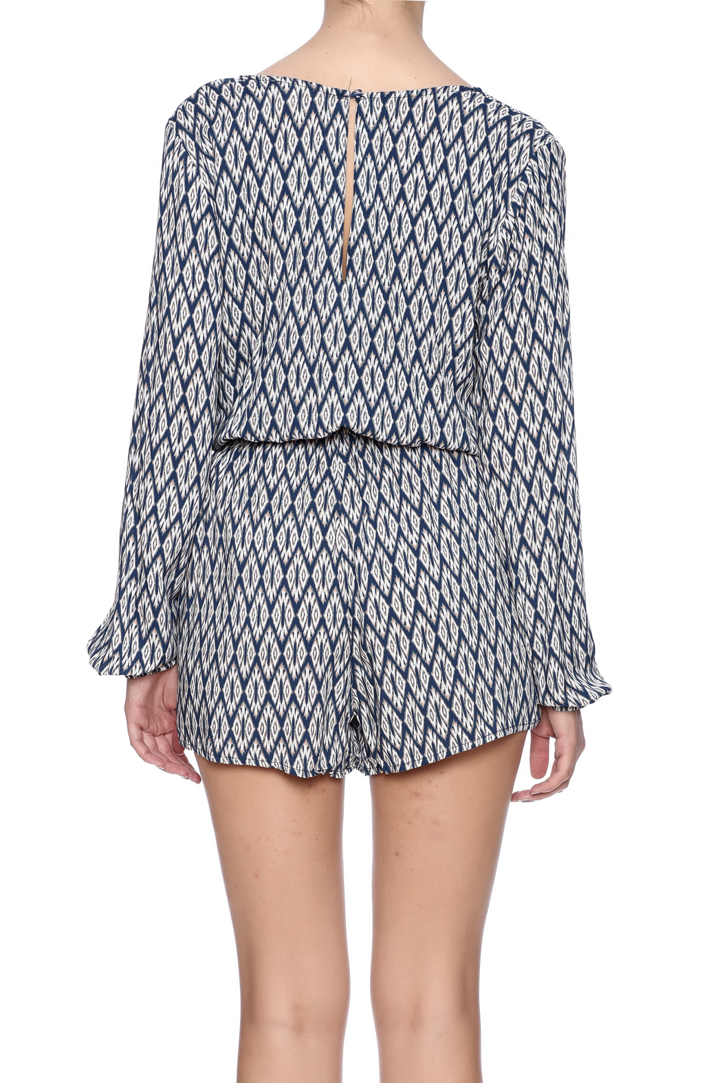 Kori The Taylor Romper - Back Cropped Image