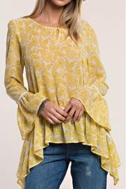 Shoptiques Product: Yellow Paisley Print