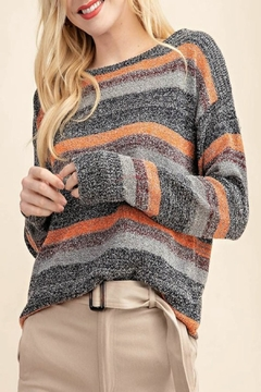 Shoptiques Product: Multi-Color Sweater Top