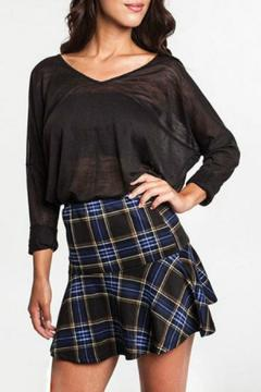 Shoptiques Product: Plaid Mini Skirt