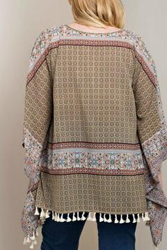 Shoptiques Product: Scarf Patterned Top