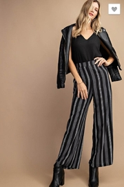 KORI AMERICA Striped Wide Leg - Product Mini Image