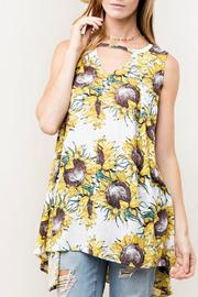KORI AMERICA Sunflower Swing Tunic - Front cropped