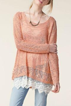 Shoptiques Product: Sweater With Lace