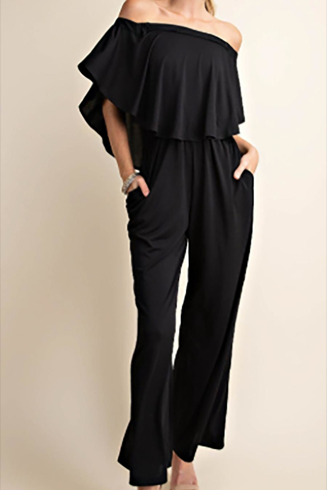 KORI AMERICA The Diana Jumpsuit - Front Cropped Image