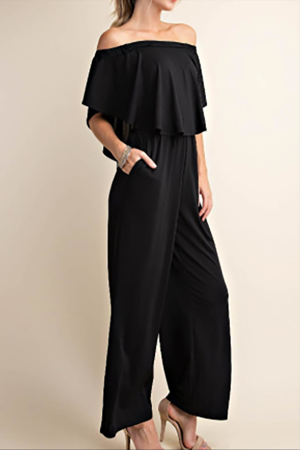 KORI AMERICA The Diana Jumpsuit - Back Cropped Image