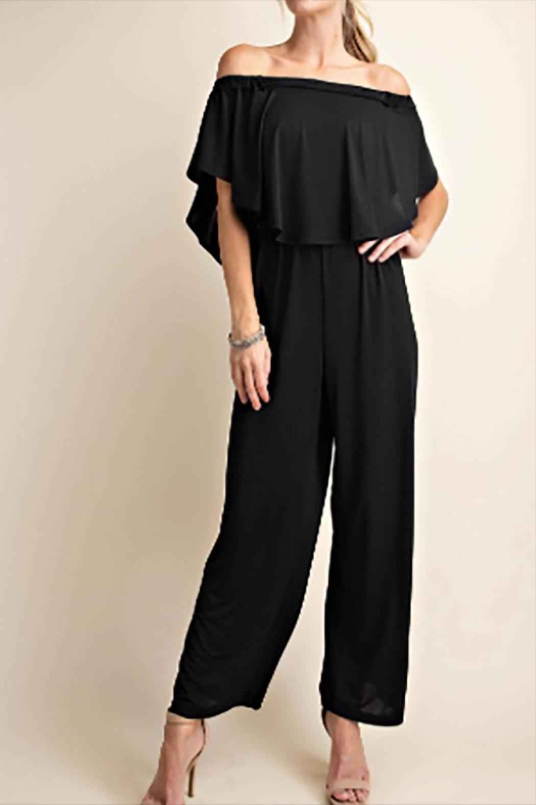 KORI AMERICA The Diana Jumpsuit - Side Cropped Image