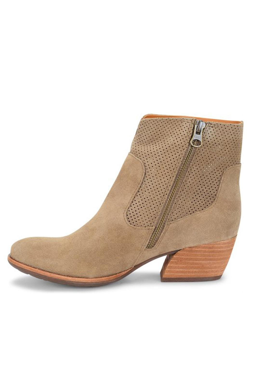Kork-Ease Sherrill Suede Booties - Side Cropped Image