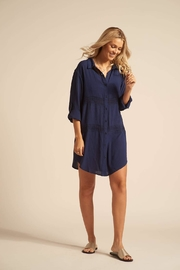 Koy Resort Button Up Coverup - Product Mini Image