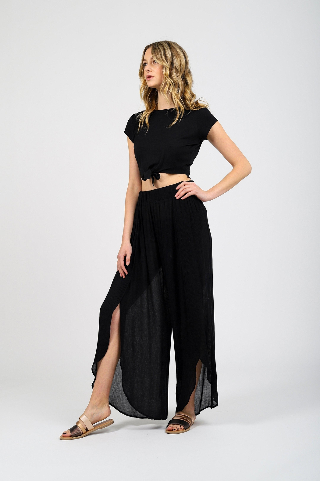 Koy Resort Miami Cover-Up Pant - Front Full Image