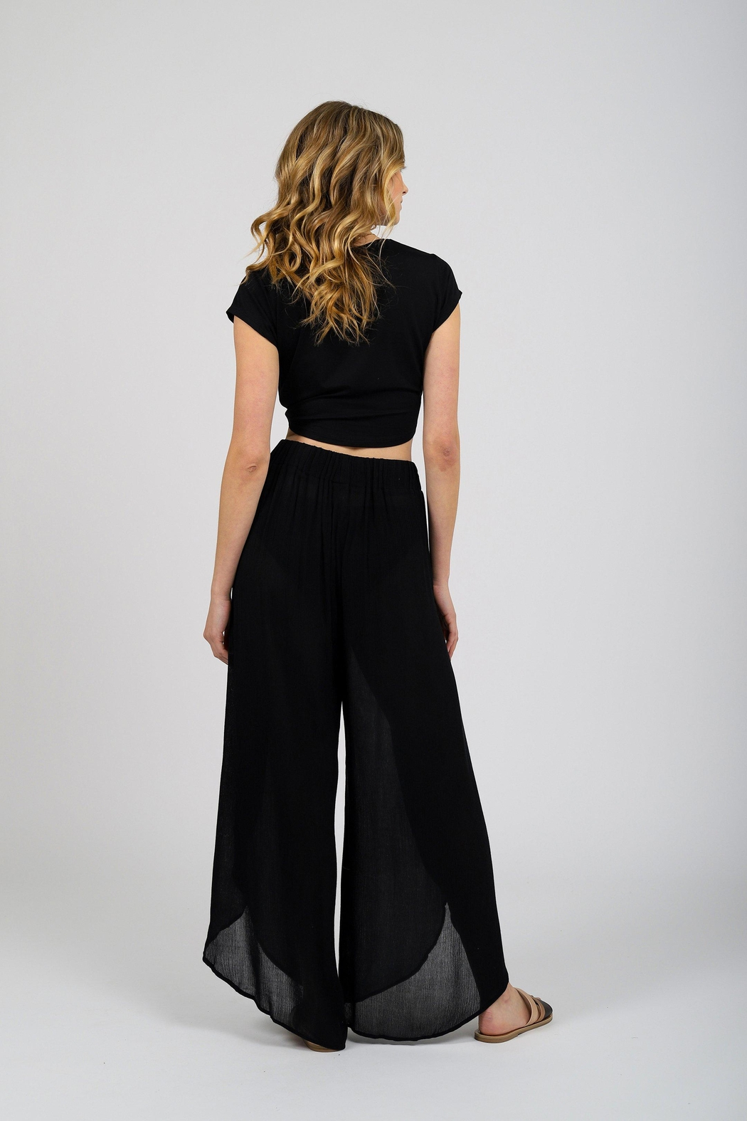 Koy Resort Miami Cover-Up Pant - Side Cropped Image