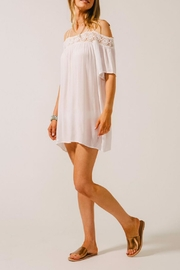 Koy Resort Off Shoulder Coverup - Product Mini Image