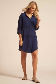 Koy Resort Shirt Dress Coverup - Product Mini Image