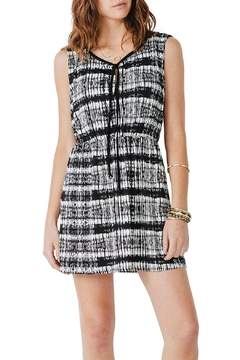 Shoptiques Product: Black Printed Sleeveless Cover-Up